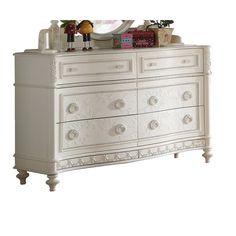 Acme Furniture Dorothy Ivory 6-drawer Dresser