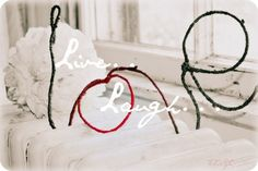 """WIre Love... Say It With Words """"Craft"""""""