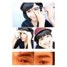 Practical 3 Style Eyebrow Stencils