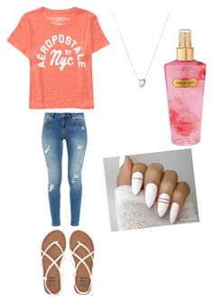 """""""Untitled #321"""" by slayxalanda ❤ liked on Polyvore featuring Aéropostale, Ted Baker, Billabong, Victoria's Secret and Links of London"""