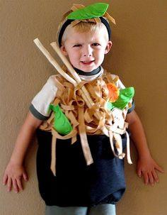 Reserved for olivelovesme... Vegetarian Noodle by TheCostumeCafe