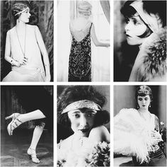 I love the 20's because it was definitely a time of change for fashion, women and music! Which is what i want to embody in my fashion everyday!