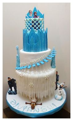Frozen Cake - Cake by zullu