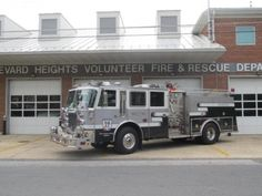 Boulevard Heights Volunteer Fire and Rescue, MD - Engine 172 - 1995 Saulisbary / Simon Duplex Pumper.