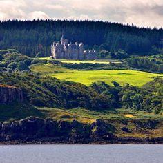 Glengorm Castle & Hotel, Isle of Mull, Scotland.
