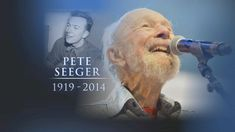 Video: Folk Singer and Activist Pete Seeger Dead at Age wrote hundreds of songs that were performed by many of the greats in American Folk Music. Folk Musik, American Folk Music, Bev Doolittle, Pete Seeger, Joan Baez, Bob Hope, Thanks For The Memories, Music Composers, Bruce Springsteen
