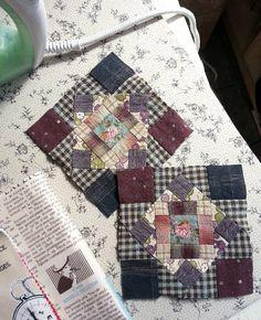 #patchwork  #handsewing  #quilt  #퀼트이즈  #패치워크 #핸드메이드  #취미스타그램