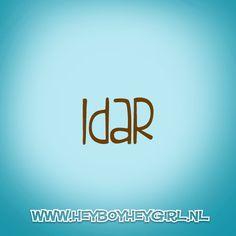 Idar (Voor meer inspiratie, en unieke geboortekaartjes kijk op www.heyboyheygirl.nl)