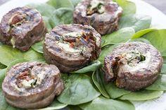 italian flank steak pinwheels