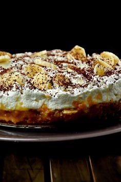 Banoffee pie, czyli tarta z bananami, masą kajmakową i bitą śmietaną, kruche, amerykańskie, pyszne, przepis, kajmak, dulce, kremówka, banany, owoce2 Pie, Food, Tarts, Cake, Meal, Fruit Cakes, Pai, Hoods, Tart