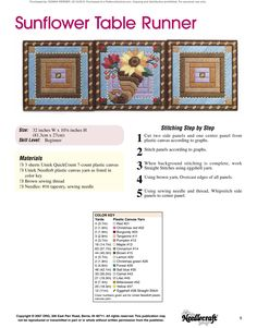 Table Runners & Coasters Pg. 2