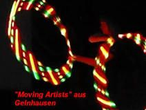 LED Travel Hula Hoop MARLEY http://de.dawanda.com/shop/LEDHoops