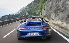 Porsche 911 Carrera 4 Cabriolet 2013 3 / WallpaperCASA