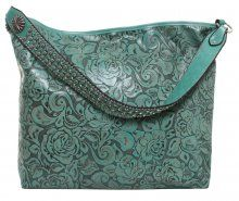 By Collection - Eagle Antique Turquoise - Double J Saddlery - Eagle Antique Turquoise Big Tote - BT121