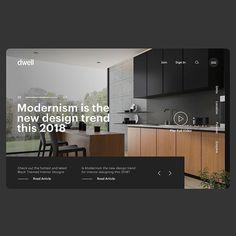 Want more creative inspiration? UI Inspiratio Web hosting at a Interior Design Website, Website Design Layout, Website Design Inspiration, Layout Design, Creative Inspiration, Portfolio Design, Webdesign Inspiration, Typography Inspiration, Ux Design