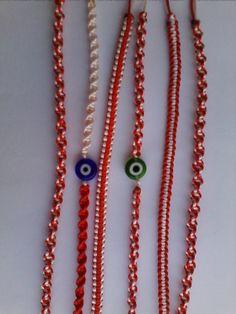 """Cute handmade """"March"""" bracelets!"""