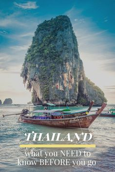 Thailand is a special country with a lot to offer any type of traveler. BUT there's a few things you need to know before you book your dream trip to the land of smiles. These facts and helpful tips are what you NEED to know before you go to Thailand.