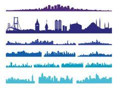 Büyük Şehir Silüetleri