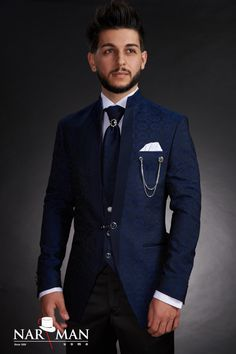 Costume barbati , wedding suits, traje da novio, abiti da sposo, non stop tel 0784 11 22 36 www. Suits You, Mens Suits, Mandarin Collar, Wedding Suits, Costumes, Suit Jacket, Menswear, Blazer, Mens Fashion