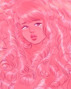 "bevsi: "" just wanted to draw a super shojo Rose"" Cartoon Network, Adventure Time Tumblr, Steven Universe Wallpaper, Fanart, All Anime, Rose Buds, A Team, Art Drawings, Aurora Sleeping Beauty"