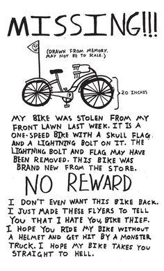 for bikethiefs