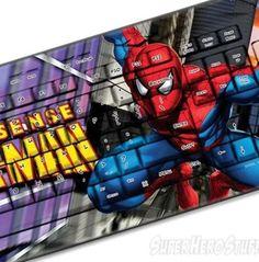 Spider-Man keyboard