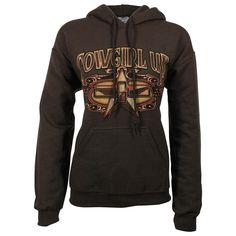Cowgirl Up Women's Graphic Print Hoodie