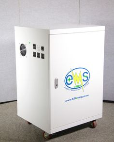 eMS 3000 energy manager is designed to manage your energy needs by allowing for interaction between grid power, green solar power, and green stored power.