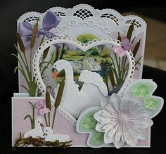Marianne Design Cards, Fancy Fold Cards, Bird Cards, Masculine Cards, Paper Cards, Decoupage, Joy, Diy Crafts, Birthday