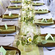 Dining Table Decorations