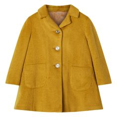 Clare Coat - Mustard - AW15 GIRLS PREVIEW - Girls 2-13YRS #ilovegorgeousfaves