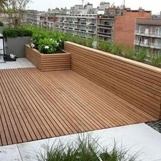 Patio boards Afrormosia - Terrasse Design - Shelves in Bedroom Pergola Kits, Outdoor Decor, Rooftop Terrace Design, Garden Architecture, House Exterior, Outdoor Decor Backyard, French Home Decor