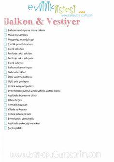 Çeyiz - Evlilik Listesi-Balköpüğü Blog | Alışveriş, Dekorasyon, Makyaj ve Moda Blogu