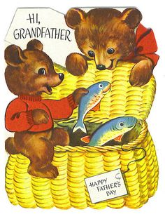 Hi, Grandfather - Happy Father's Day card by Tommer G, via Flickr