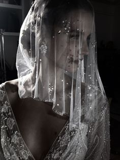 Wow. The veil and gown is put together so well. Make up shouldn't be over done but just enough to bring some glow through the veil. Gown by Lihi Hod, she's amazing (015)-Lottie.B