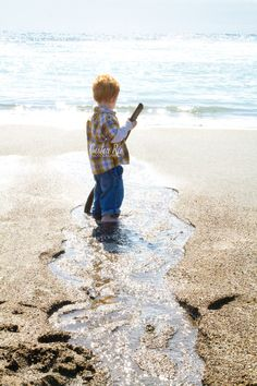Dreaming ...Cayucos Beach Bum in the making....love it!