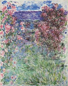 The House among the Roses - Monet, Claude