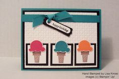 sweet scoops stampin up - Google Search