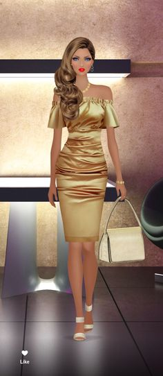 Covet Fashion Games, Fashion Design Sketches, Barbie Dress, Lovely Dresses, Party Fashion, Designer Dresses, Fashion Dresses, Bodycon Dress, Style Inspiration