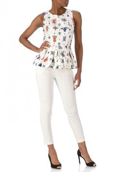 Peplum Top dessin