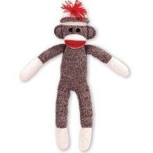Sock Monkey- no childhood is complete without one!