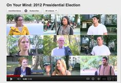 Just in time for the debate, check out Manilla's first On Your Mind video to see what people think about the upcoming election. Watch on YouTube