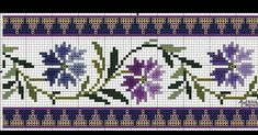 Cross Stitch Borders, Knitting, Towels, Punto De Cruz, Tricot, Breien, Stricken, Weaving, Knits