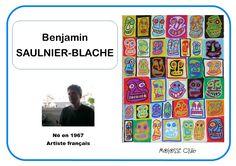 Benjamin Saulnier-BLache - Portrait d'artiste Art Montessori, Art History Memes, School Stress, Emotional Child, School Portraits, Art Worksheets, Ecole Art, Art Plastique, Teaching Art