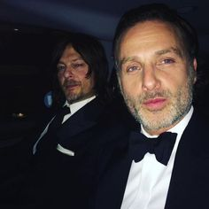 Holy hotness! - Norman & Andrew - Rickyl - Fangirl - The Walking Dead