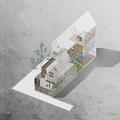 Interesting Find A Career In Architecture Ideas. Admirable Find A Career In Architecture Ideas. Collage Architecture, Architecture Graphics, Minimalist Architecture, Architecture Visualization, Facade Architecture, Melbourne Architecture, Portfolio D'architecture, Axonometric Drawing, Architectural Section