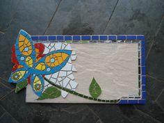 Numero de casa em mosaico - $250