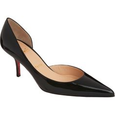 Hows about a Louboutin kitten heel?