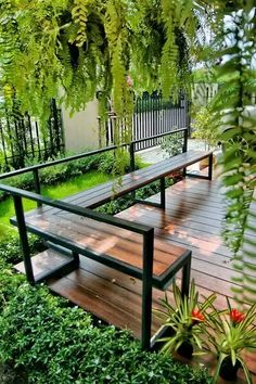 32 The Best Minimalist Garden Design Ideas You Have To Try - A house is made more aesthetically pleasing though its design. For a house, one of the areas where design is really important is the garden. Deck Design, Layout Design, Landscape Design, House Design, Design Ideas, Window Design, Backyard Garden Design, Backyard Patio, Backyard Landscaping
