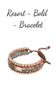 Resort Bold has natural colors and IS carefully balanced for an elegant look. Natural Colors, Period, Delivery, Accessories, Free Shipping, Watch, Elegant, Bracelets, Stuff To Buy